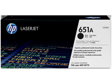 HP CE340A, HP 651A