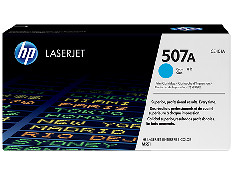 HP CE401A, HP 507A