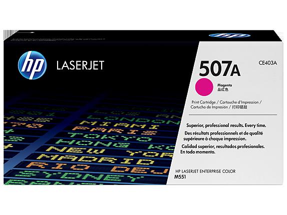 HP CE403A, HP 507A