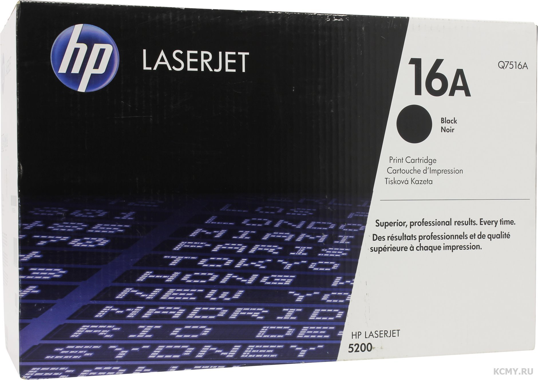 HP Q7516A, HP 16A
